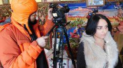 Vrăjitoare Cristina a participat la filmări, alături de vrăjitoarea Brățara, cu jurnaliștii ruși de la TVC Moscova