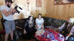 Tămăduitoarea Ioana Sidonia a filmat cu televiziunea din Moscova și a dat interviu