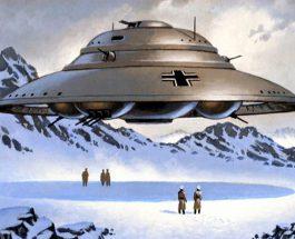 Baze germane secrete la Polul Nord?